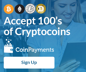 CoinPayments - Accept cryptocurrency on your website