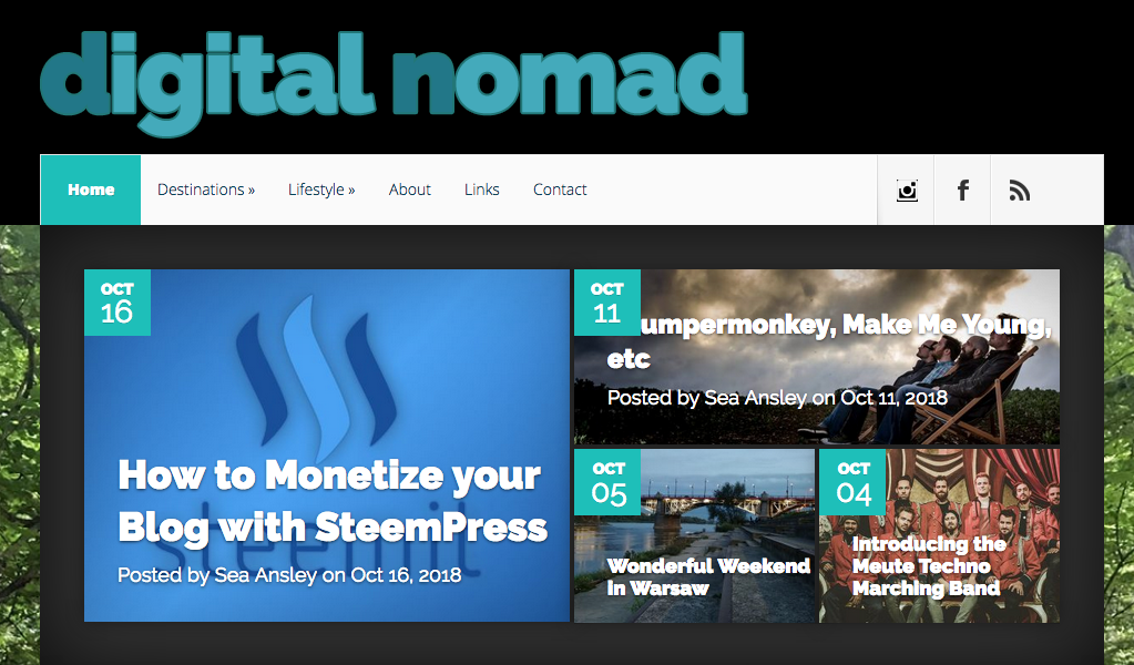 One of the best digital nomads blogs - DigitalNomad.Blog