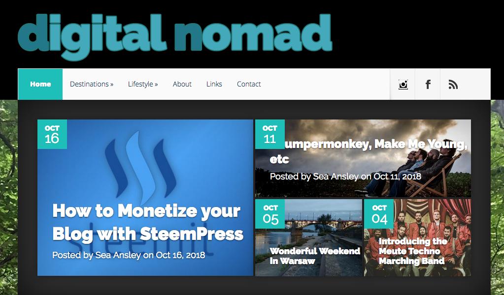 One of the best digital nomads blogs - DigitalNomad.Blog