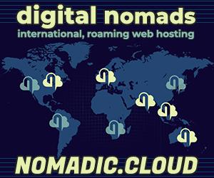 Nomadic Cloud - web hosting for digital nomads
